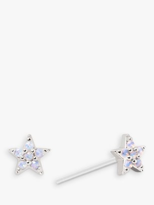 Astrid & Miyu Opal Star Stud Earrings