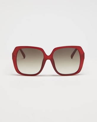 Le Specs Women's Red Square - Frofro Alt Fit - Size One Size at The Iconic