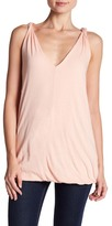 James Perse Twisted Strap Tank