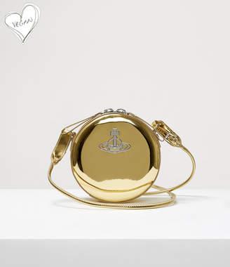 Vivienne Westwood Johanna Round Crossbody Bag Gold