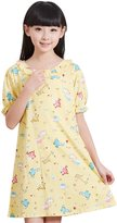 HAPPY CHERRY Cute Cotton Girls Nightgowns Pajamas Year 9-10