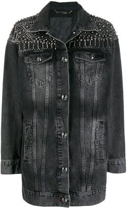 Philipp Plein Gothic Plein Denim Jacket