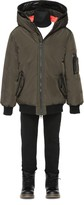 Mackage Arty Army Down Unisex Winter Bomber With Hood (8-14 Yrs)