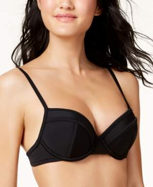 Macy's Hula Honey Juniors' Push-Up Bikini Top, Created for Women's Swimsuit