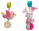 Infantino Go GaGa Stroller/Carseat Toy Traveling Duo Girl