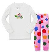 "Kidsmall ""Tortoise"" Little Grls Long Sleeve Pajama Set Cotton sleepwear"