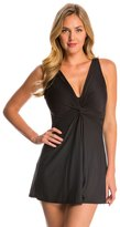 Miraclesuit Solid Marais Soft Cup Swim Dress (DD Cup) 8137957