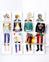 Christian Lacroix Miss Harlequin Coasters, 4-Piece Set
