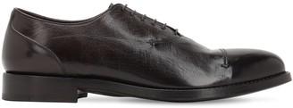 Alberto Fasciani 25mm Buffalo Leather Oxford Shoes