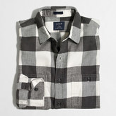 J.Crew Factory Slim plaid flannel shirt