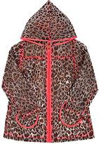 Billieblush Leopard-Print Raincoat