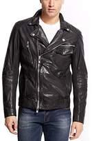 Rogue Men's Leather Biker Jacket
