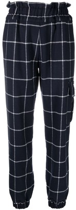 Forte Dei Marmi Couture Check-Pattern Cargo Trousers