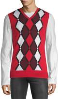 J. Lindeberg Men's Sleeveless Merino Wool Sweater