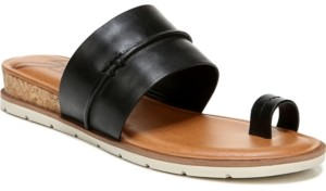 Zodiac Adelanto Toe-Ring Demi-Wedge Sandals Women's Shoes