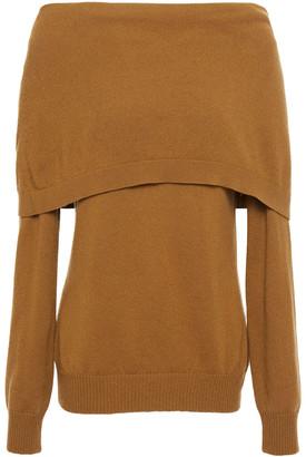 Oscar de la Renta Layered Cashmere Sweater