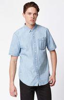 Ezekiel Springfield Chambray Short Sleeve Button Up Shirt