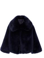 Nili Lotan Garbo Faux Fur Coat
