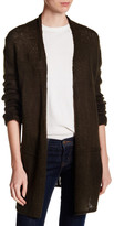 Wooden Ships Seamed Cardi Sweater