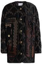 Peter Pilotto Embroidered Velvet Jacket