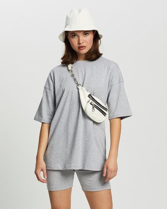 Missguided Co-Ord T-Shirt & Cycling Short Set