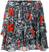 IRO layered skirt