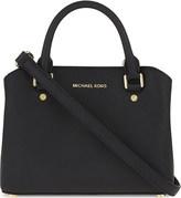 MICHAEL Michael Kors Savannah small Saffiano leather satchel