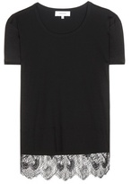 Carven Lace-trimmed T-shirt