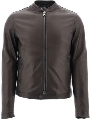 Tagliatore Zipped Biker Jacket
