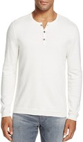 John Varvatos Cashmere Blend Henley Sweater - 100% Bloomingdale's Exclusive