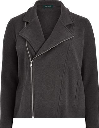 Ralph Lauren Cotton-Blend Moto Jacket