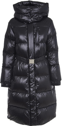 Woolrich Black Aliquippa Long Jacket