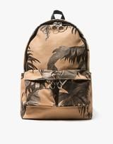 Off-White Banana Leaf Backpack