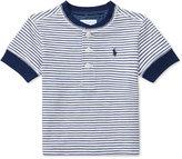 Ralph Lauren Striped Cotton Henley Shirt, Baby Boys (0-24 months)