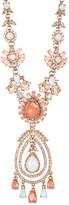 Marchesa Crystal, Simulated Pearl, & Stone Orbital Pendant Necklace