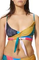 Mara Hoffman Mila Wrap Bikini Top