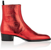 Saint Laurent Men's Wyatt Leather Ankle Boots