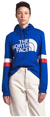 The North Face Vintage Varsity Pullover Hoodie (TNF Blue) Women's Clothing