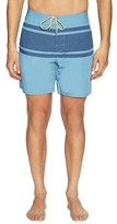 Faherty Colorblock Surf Boardshorts