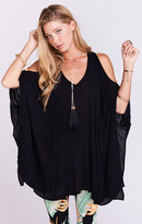 MUMU Peta-Boo Tunic ~ Black Cloud