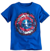 Disney Captain America Shield Tee for Boys
