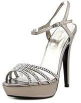 Caparros Belle Open Toe Leather Platform Heel.