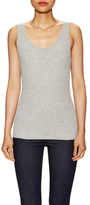Three Dots Ribbed Scoopneck Top