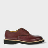 Paul Smith Men's Bordeaux Leather 'Howell' Derby Shoes