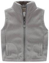Aivtalk Little Boys' Fleece Vest Zipper Pocket Outwear Size S