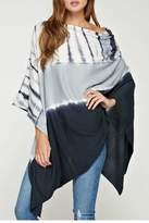 Love Stitch Lovestitch Lightweight Tiedye Poncho