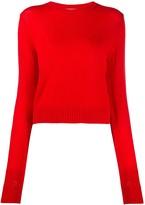 Jil Sander crew-neck long sleeved knitted top
