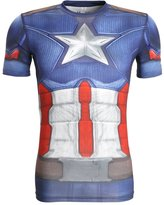 Under Armour Captain America Undershirt Blau/rot/grau
