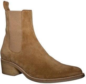 Amiri Pointed Toe Chelsea Boot Fango