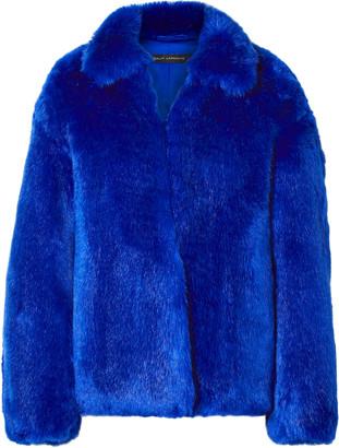 Sally LaPointe Faux Fur Coat